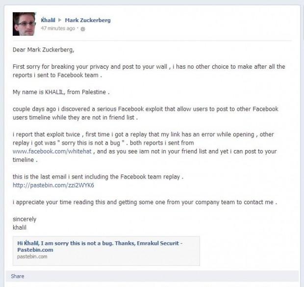 Фахівець з безпеки хакнув екаунт Марка Цукерберга щоб довести, що знайшов вразливість у системі