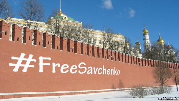 #FreeSavchenko: користувачі соцмереж вимагають звільнення української Надії