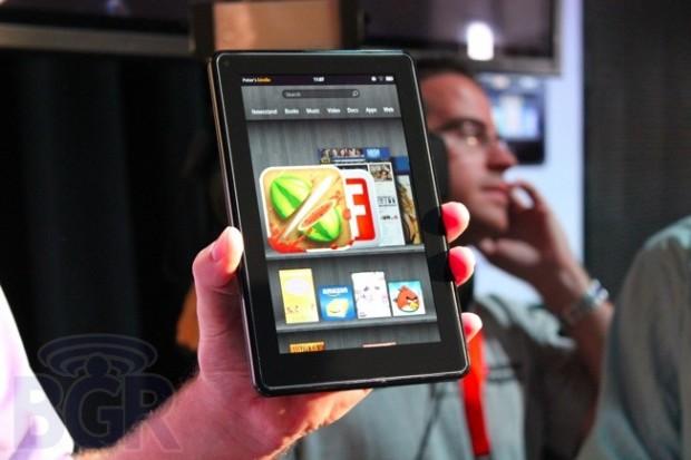 Kindle Fire випередив iPad за популярністю в Україні (оновлено)