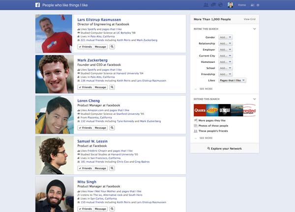 Facebook вирішив зробити революцію в пошуку