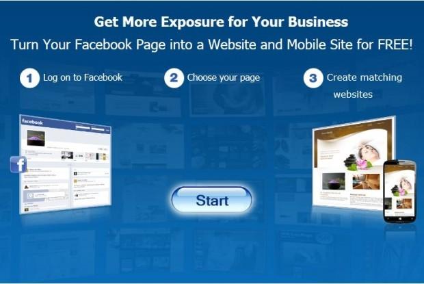 Як перетворити Facebook сторінку на вебсайт