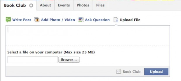 Facebook запустив файлообмінник