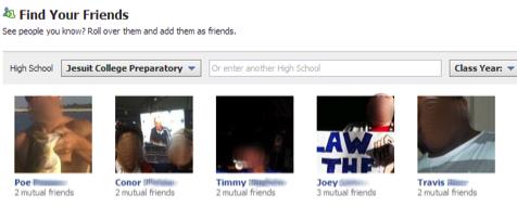 Facebook тестує новий вид пошуку друзів