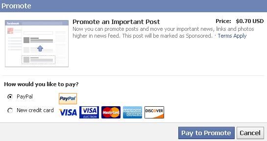 Facebook запустив просування публікацій приватних екаунтів