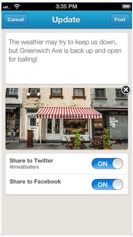 Foursquare запустив мобільний додаток для бізнесу