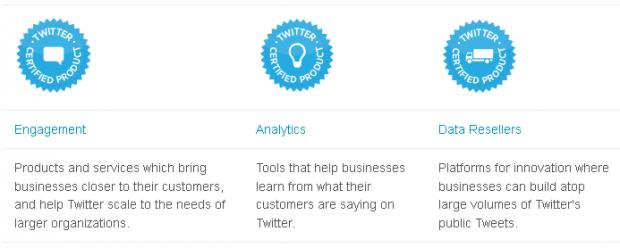 Twitter запустив програму сертифікованих продуктів від розробників