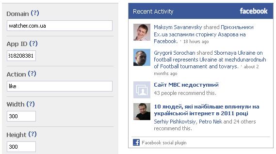 Соціальний плагін від Facebook Activity Feed зазнав серйозних змін (оновлено)