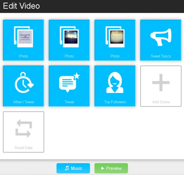 Як створити відео презентацію свого твіттера