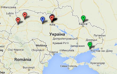 Google запустив карту українських рекламних агенцій