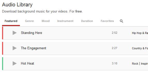 YouTube запускає безкоштовну аудіо бібліотеку
