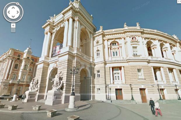 Google запустив Street View для України