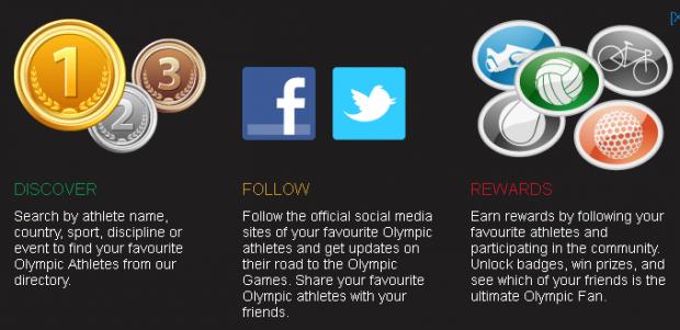 Міжнародний олімпійський комітет пропонує фоловити олімпійських атлетів