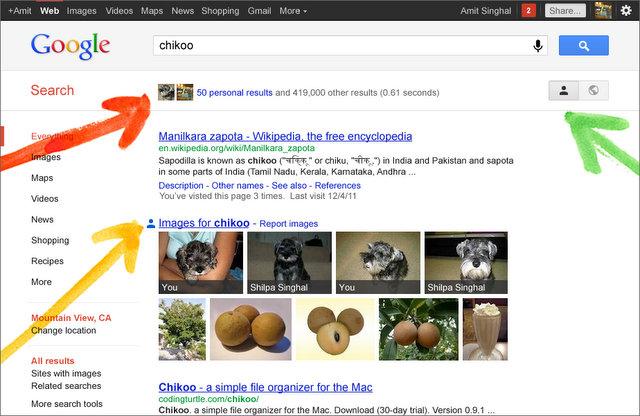 Як вимкнути соціальний пошук від Google+