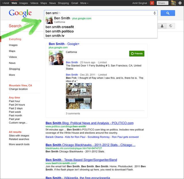 Google кардинально змінює свій пошук та інтегрує до нього Google+