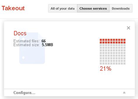 Став доступним експорт усіх даних із сервісів Google