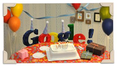 Google відзначає 13 років
