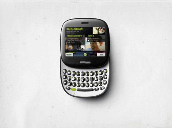 Майкрософт презентував телефони Kin