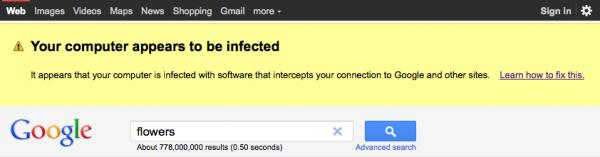 Google буде попереджувати користувачів про віруси на їх ПК