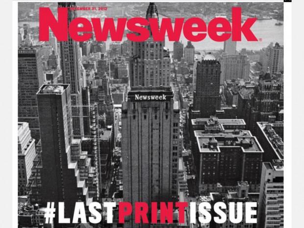 Вийшов останній паперовий номер журналу Newsweek