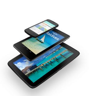 Google показала нові пристрої   смартфон і планшет Nexus