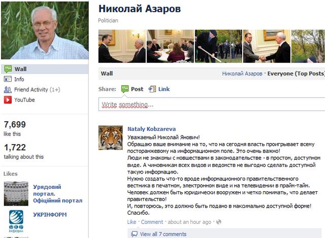 10 найпопулярніших українських сторінок особистостей на Facebook
