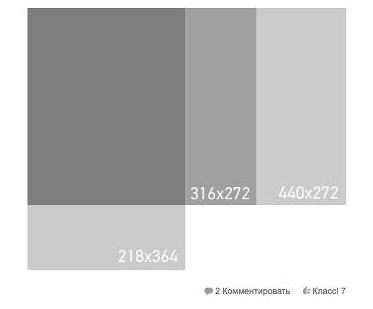 Усі розміри зображень для Одноклассники (інфографіка)