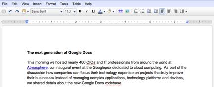 Google Docs оновив функціонал