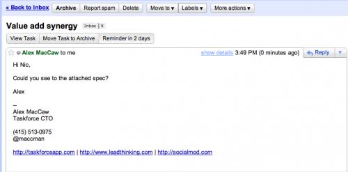 В Gmail тепер можна відкладати прочитання листів на потім