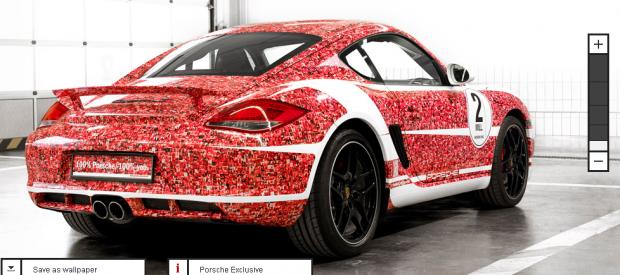 Porsche віддячив прихильникам у Facebook спеціальним авто