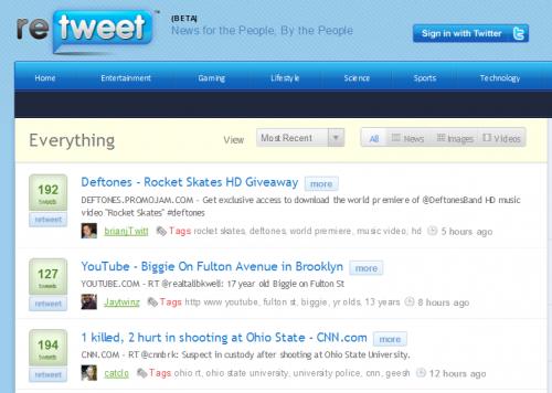 Retweet.com продали за $250 тис.