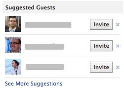 Facebook тестує функцію рекомендованих гостей для подій