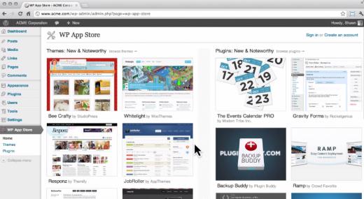 Для Wordpress запустили неофіційний App Store