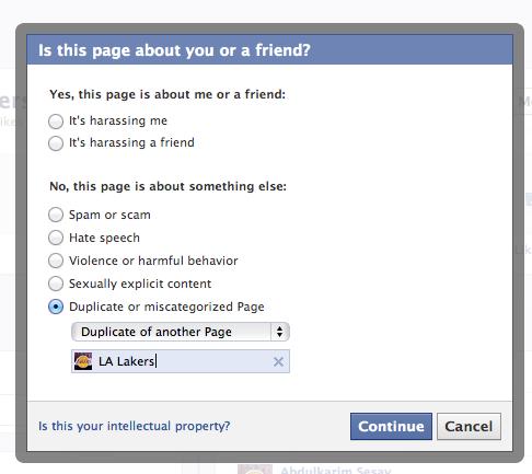 Facebook тестує опцію пошуку і оскарження сторінок дублікатів