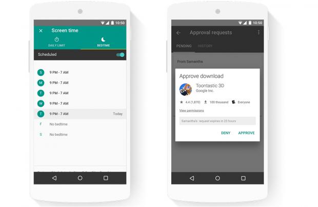 Google створила сервіс для контролю над телефонами дітей