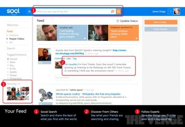Microsoft готує до запуску власну соцмережу Socl.com