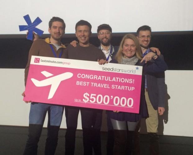 Український стартап TRIPMYDREAM став найкращим в світі в сфері подорожей і отримав приз півмільйона доларів