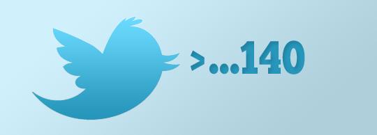 Twitter планує відмовитись від обмеження в 140 символів