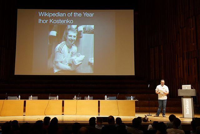 Засновник Вікіпедії оголосив її дописувача   українця з Небесної сотні   вікіпедистом року