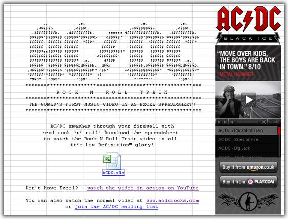 Вірусний маркетинг від легендарного гурту AC/DC