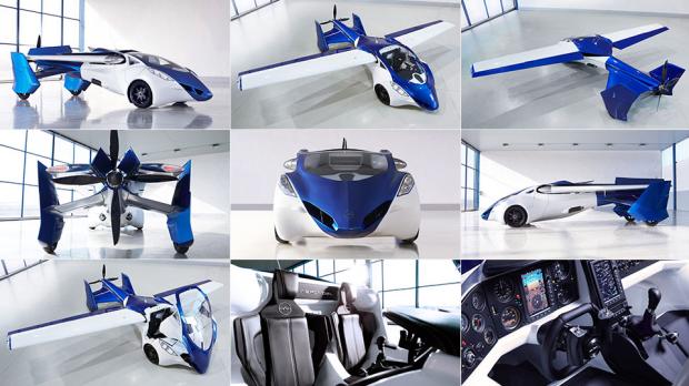 Літаючі автомобілі AeroMobil зявляться у продажу вже наступного року