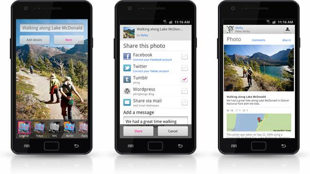 Flickr запустив спільний перегляд фото та додаток для Android