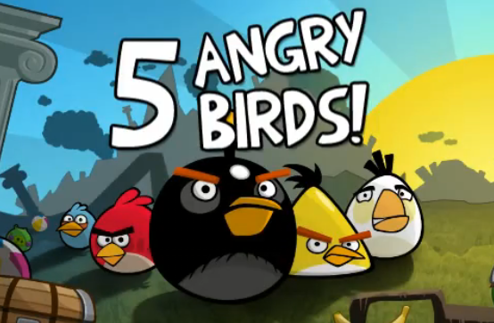 Дайджест: 350 млн завантажень Angry Birds, 25% часу американців   у соціалках, сповіщення від Facebook