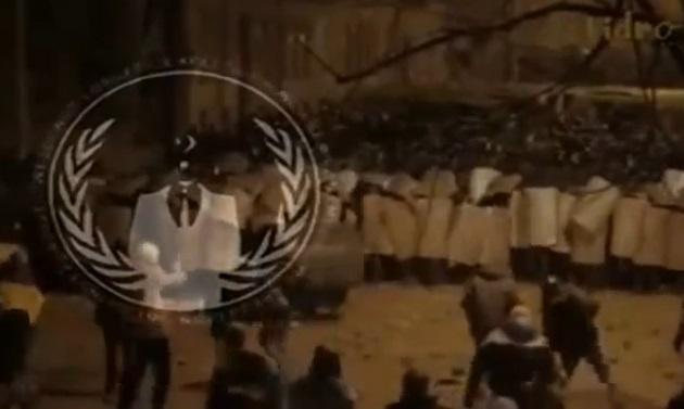 Група Anonymous звернулась до української влади, міліції та народу