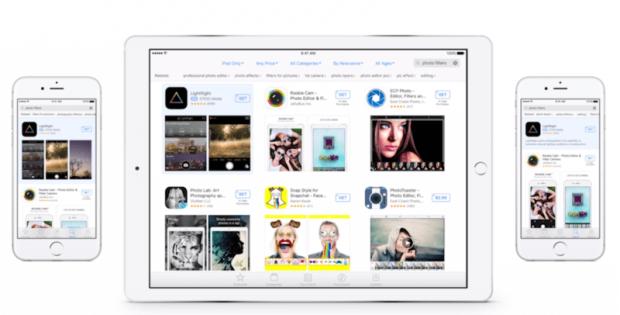 Apple запускає пошукову рекламу в App Storе