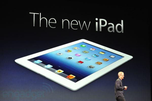 Apple продала за три дні три мільйони нових iPad