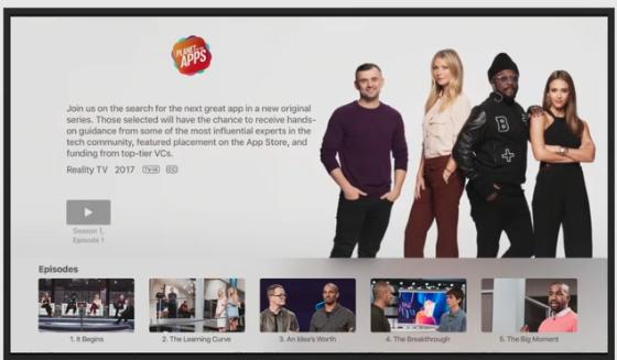 Apple запускає реаліті шоу про розробників мобільних додатків