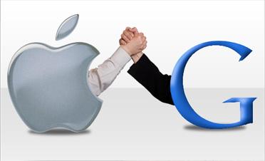 Google та Apple боротимуться за ринок цифрового контенту