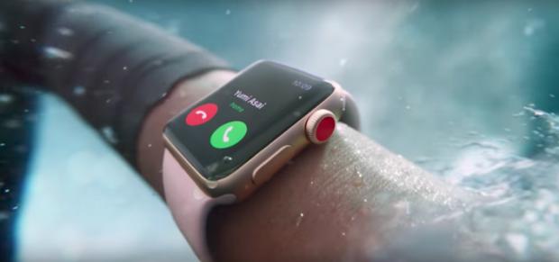 Apple представила Apple Watch 3