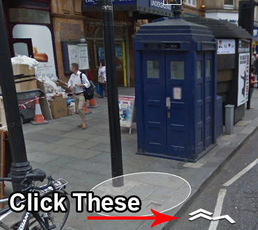 Google Maps дозволили зазирнути до TARDIS із серіалу «Доктор Хто»