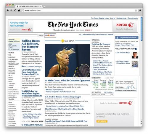 New York Times відмовиться від друкованої версії